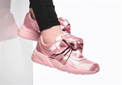 rihanna fenty bow shoes sneakernews