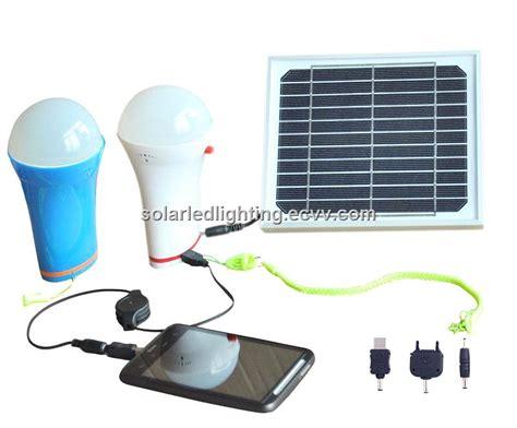 Solar Panel Light Bulb Multifunction Portable Solar Led Light Bulb With