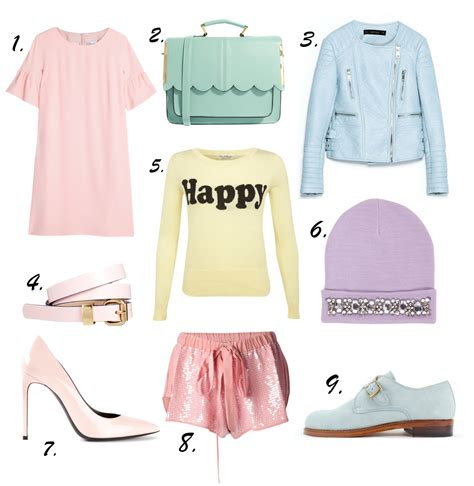 Rubiah Pastel Dress Trend Allert Trend Alert Pastels Update Your Wardrobe With Some