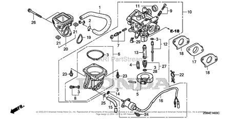 honda generator carburetor diagram honda eb11000k1 an generator jpn vin ezgt 1010001 to