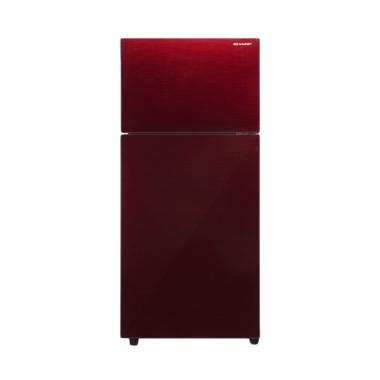 Kulkas Sharp 1 Pintu Warna Merah harga kulkas sharp 2 pintu warna pink harga 11