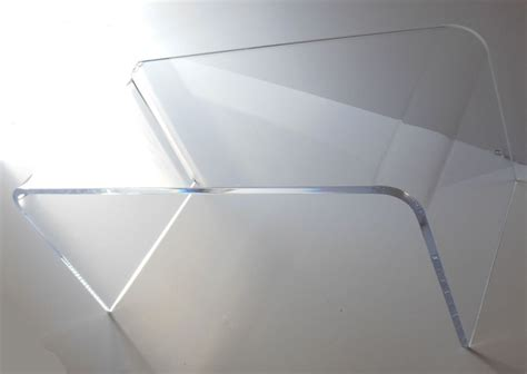 Acrylic Coffee Table Acrylic Coffee Cocktail Table Lucite 44 X 20 X 16 High New Lower Height Ebay
