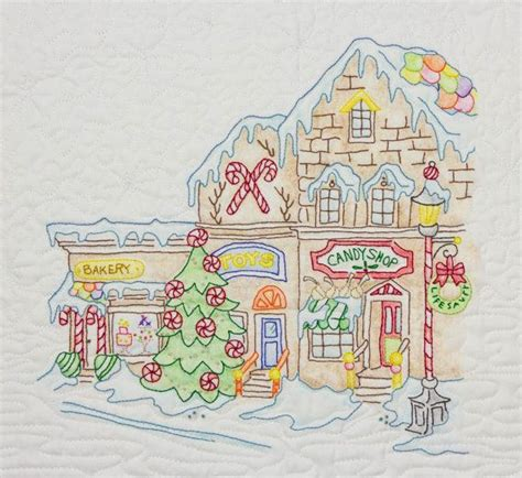 embroidery design rogers ar gingerbread square quilt pattern by crabapple hill block