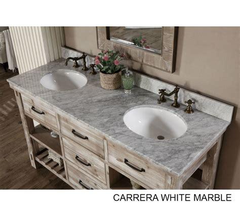 bathroom sink vanity top accos 60 inch rustic sink bathroom vanity marble top