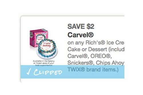 carvel cake coupons june 2018