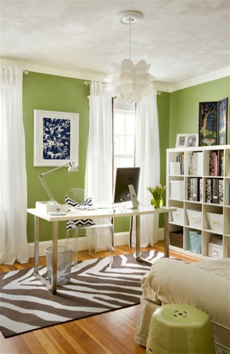 how to use colour in your home office to increase productivity mocha