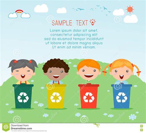 imagenes niños reciclando los ni 241 os que segregan la basura reciclando basura