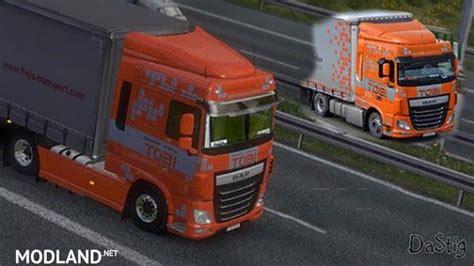 Topi Trucker Valentino 3 Whzr daf xf 6 tobi transport skin mod for ets 2