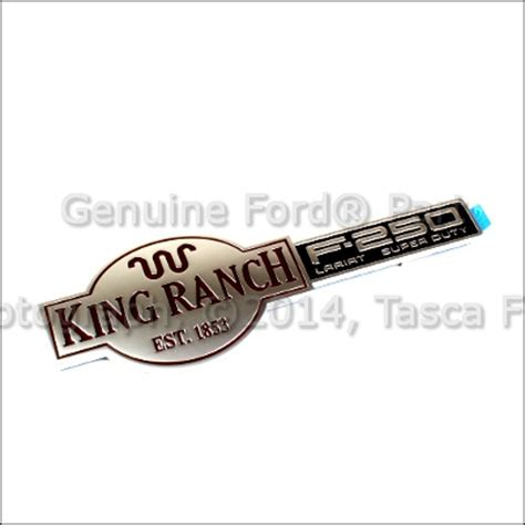 new oem king ranch tailgate emblem badge 2003 2007 ford f