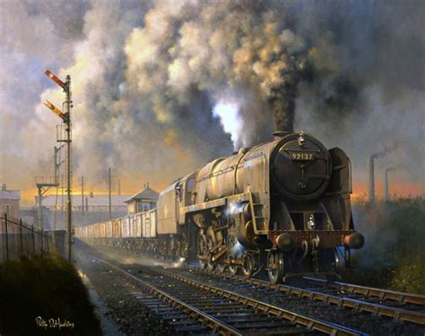railway paintings by philip d hawkins fgra