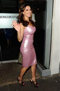 kelly brook cleavage  tight dress  gotceleb