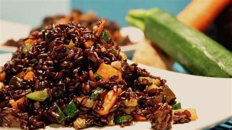 come cucinare riso venere insalata riso venere e tacchino ricette bimby