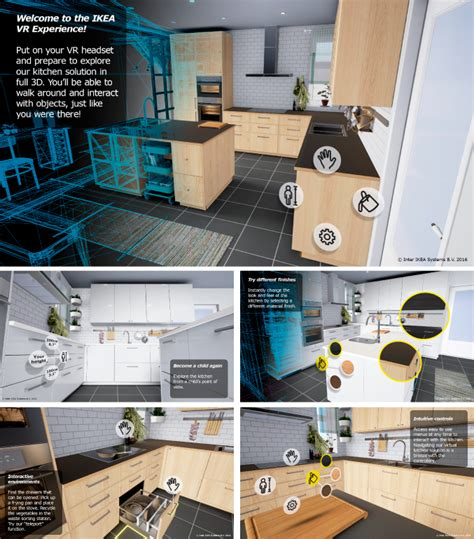 virtual kitchen designer ikea ikea tests virtual reality with new kitchen experience