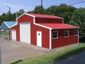 Barn Style Metal Buildings Rv Garage Kits Neiltortorella Com
