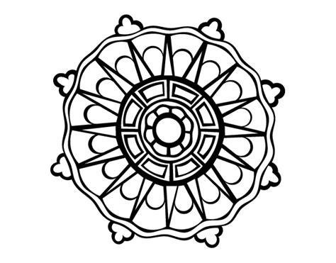 www mandala desenho de mandala com sol raios para colorir colorir com