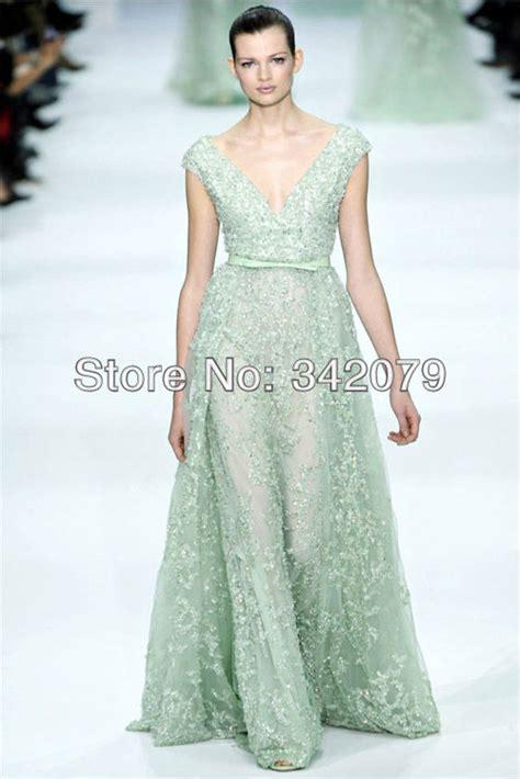 dress design necklines ph08366 elie saab haute couture a deep v neckline floor