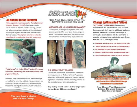 tattoo removal information pleasures removal tatt2away