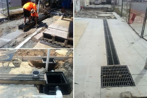 driveway drainage systems from ej