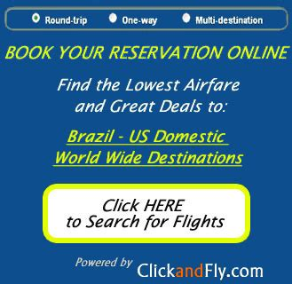 discount tickets to brazil for vacation business from bacc travel consolidators