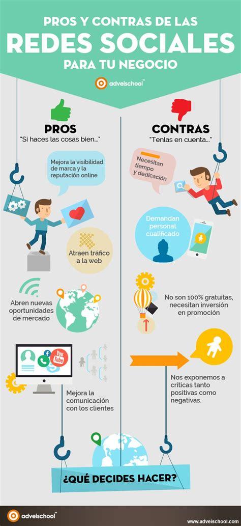 infografia tamaño imagenes redes sociales lo mejor y lo peor de las redes sociales para tu negocio
