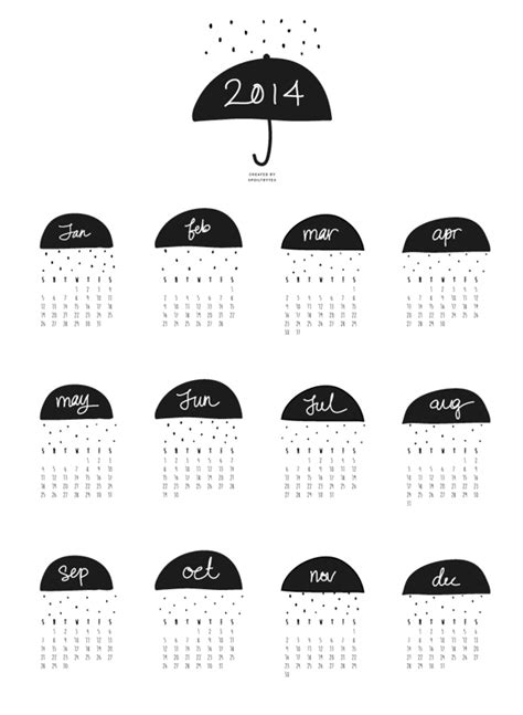 pretty sweet fonts fun fabulous free jami ray 2014 printable calendars jami ray
