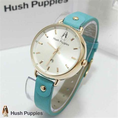 Jam Tangan Hush Puppies Asli jual jam tangan hush puppies hp 3802 tali kulit ring gold