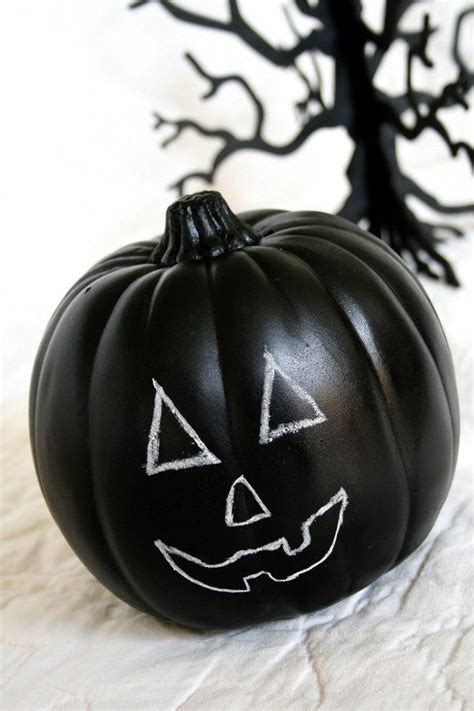 chalkboard paint pumpkin chalkboard pumpkin blackboard pumpkin black
