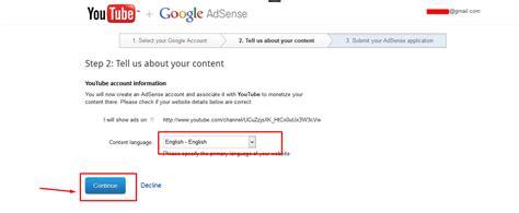 cara mudah mendaftar google adsense melalui youtube cara mudah mendaftar google adsense melalui youtube