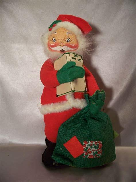 annalee santa claus doll 1972