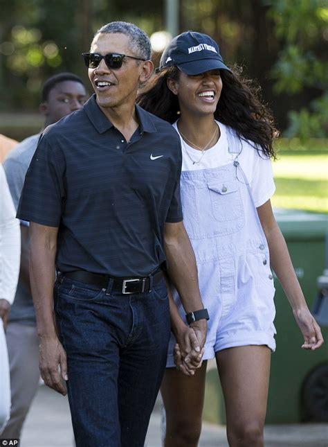 president obama s hawaii vacations barack and malia obama enjoy last day of hawaii holiday at