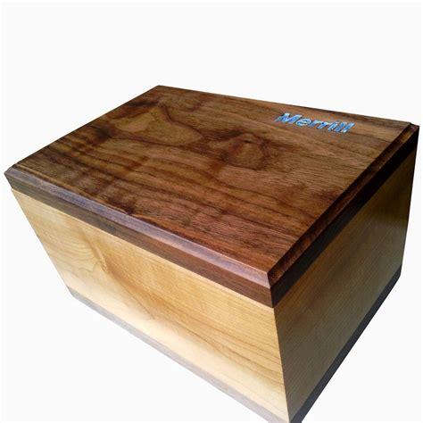Custom Box With buy a custom made maple and walnut keepsake box with