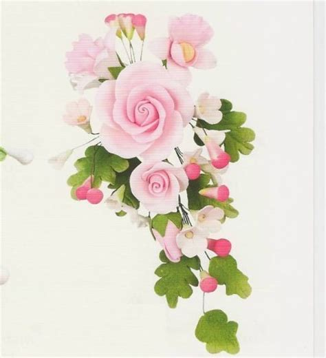 Hochzeitstorte 5 Stöckig Preis by Set 3 St 252 Ck Tragant Blumenbouquet Rosa Dekor24