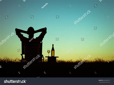 Just Sit Back And Enjoy by Just Sit Back Relax Enjoy Stock Photo 420842527