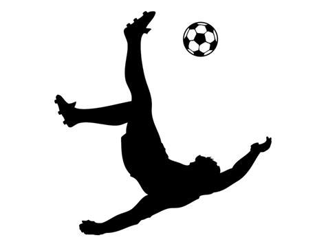 kinderlen voetbal wandtattoo fu 223 baller mit fallr 252 ckzieher bei homesticker de