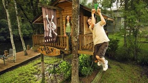 backyard zip line design cool outdoor ideas for kids zip line tree house