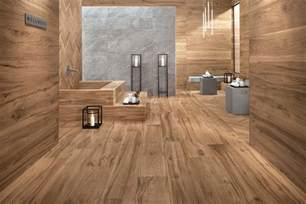 wood wall bathroom wood look tile 17 distressed rustic modern ideas