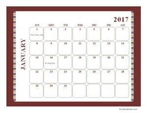 large monthly calendar template 2017 monthly calendar template large boxes free