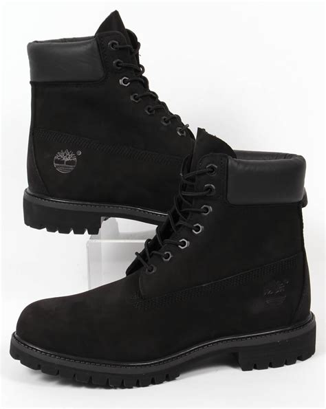 6 inch boots timberland icon 6 inch premium boots black nubuck s