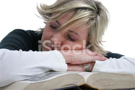the sleeping books sleeping on the book stock photos freeimages