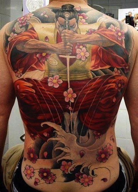 tattoo japanese back 144 unique samurai tattoo