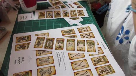 how to make tarot cards diy mini tarot deck