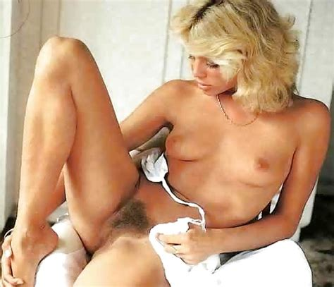 Vintage Blonde Hairy Pussy 20 Pics
