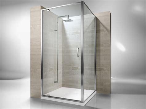 doccia gf cabina de ducha de esquina a medida de vidrio templado