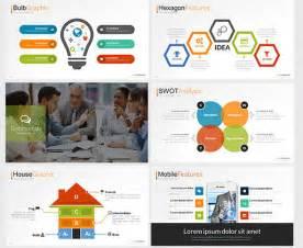 Idea Presentation Template by 18 Cool Flat Powerpoint Templates Desiznworld