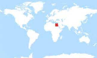 Egypt On World Map by Where Is Egypt Located On A World Map Onlineshoesnike