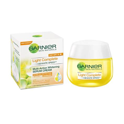 Garnier Light Speed Serum l oreal berani matahari blibli