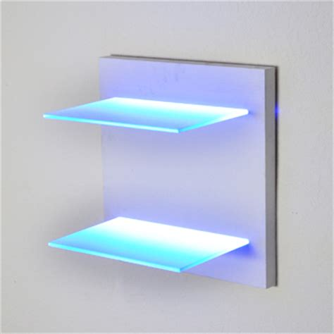 Led Light Shelf by Led Lighted Shelves