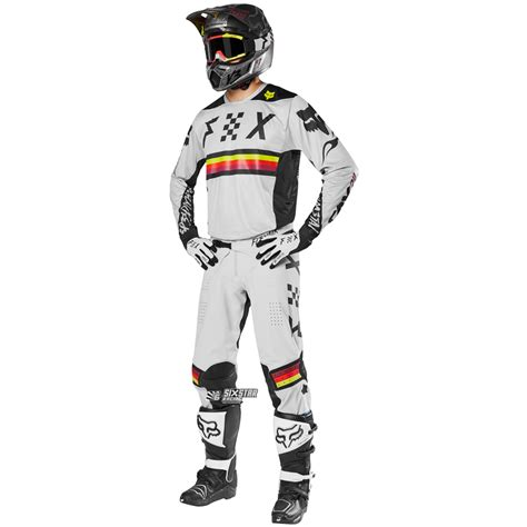 fox motocross kits fox racing flexair rodka limited edition gear kit light