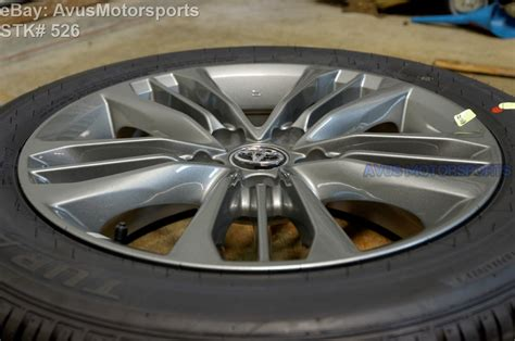 toyota camry factory wheels new 2015 toyota camry oem 17 quot factory wheels tires solara