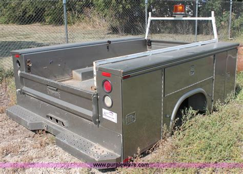 utility beds for sale knapheide 9 utility truck bed item c2712 sold